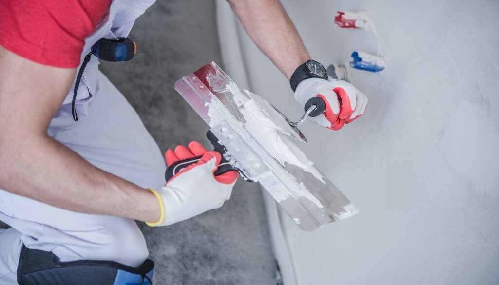 Drywall Patching Job