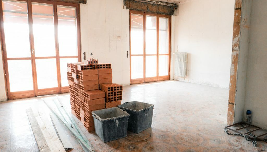 apartment under renovation